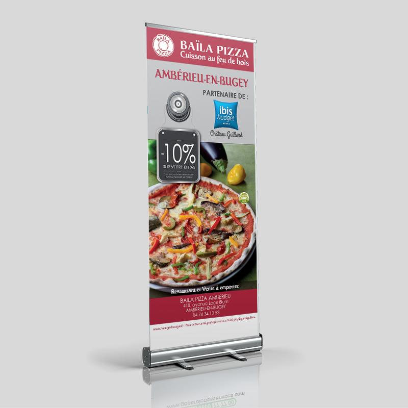 roll up partenariat restaurant hotel